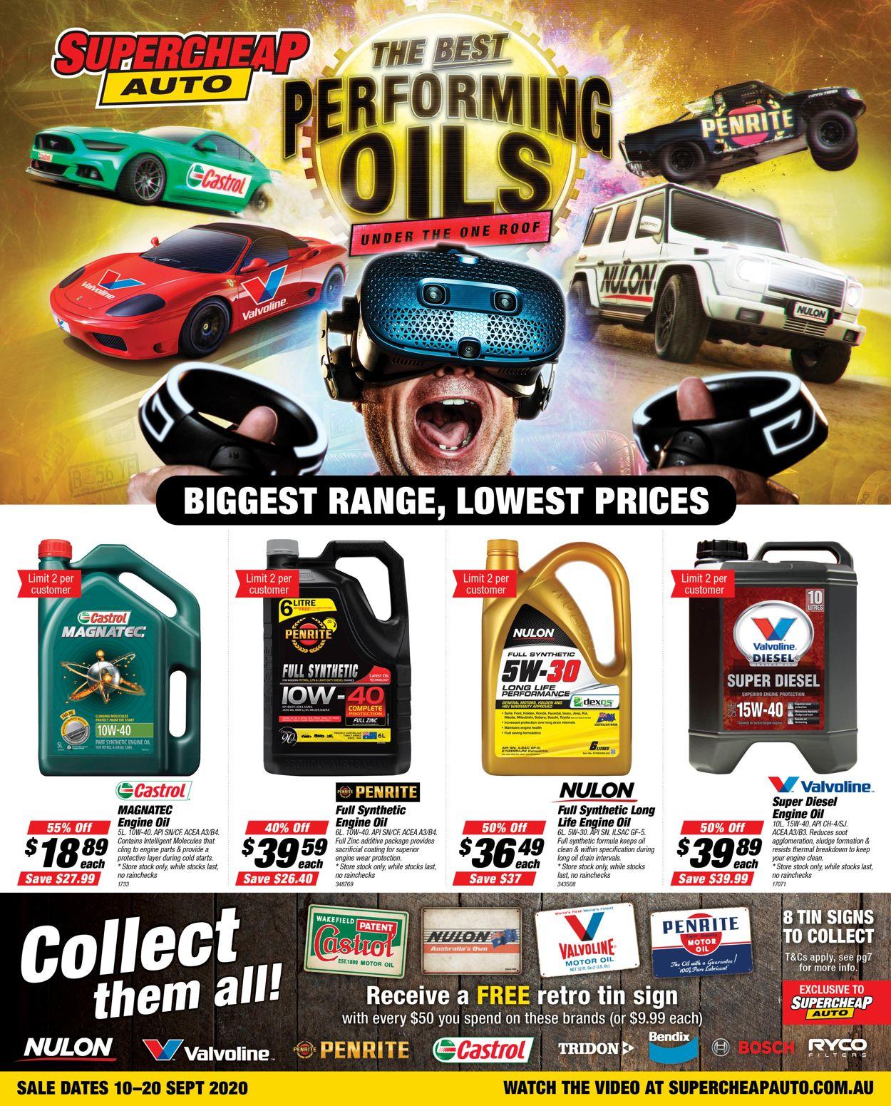 Supercheap Auto Catalogue - 10/09-20/09/2020