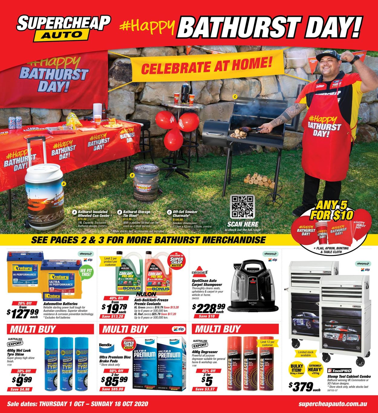 Supercheap Auto Catalogue - 01/10-18/10/2020