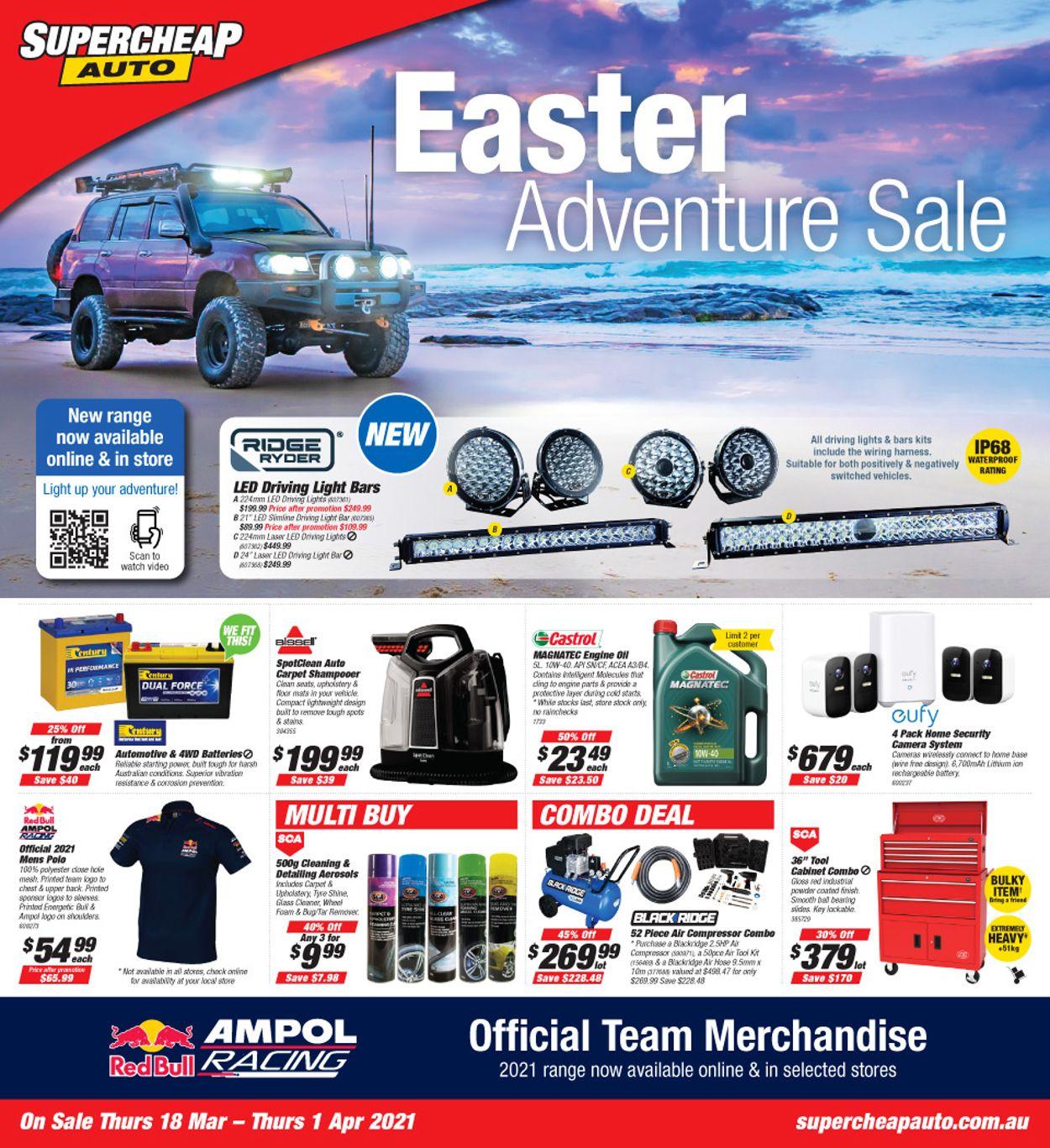 Supercheap Auto Catalogue - 18/03-01/04/2021