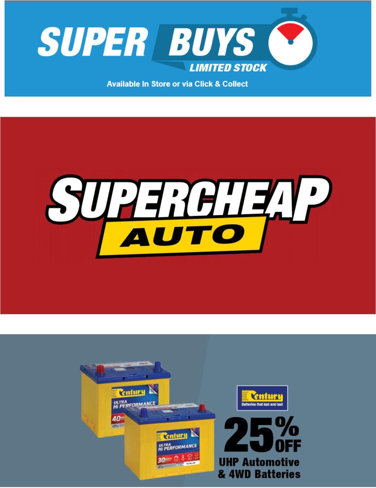 Supercheap Auto Catalogue - 14/04-20/04/2021