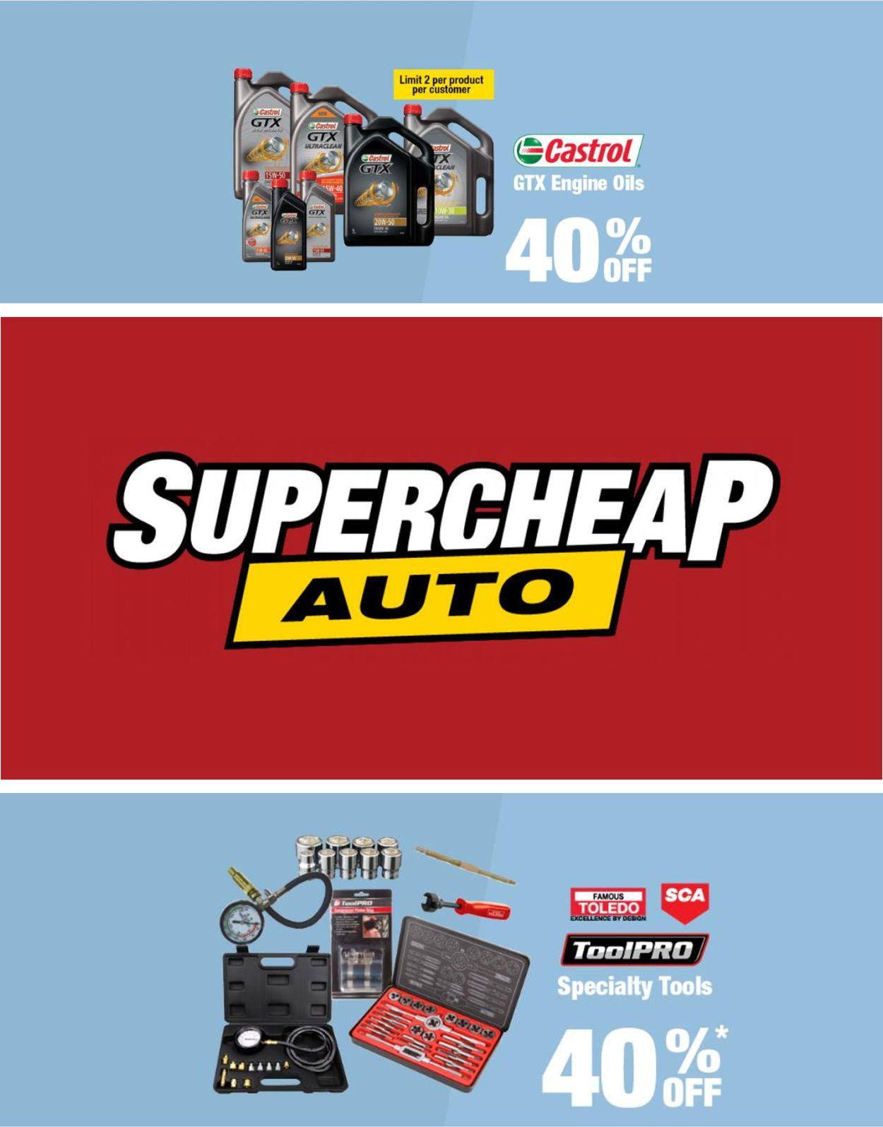 Supercheap Auto Catalogue - 22/04-27/04/2021