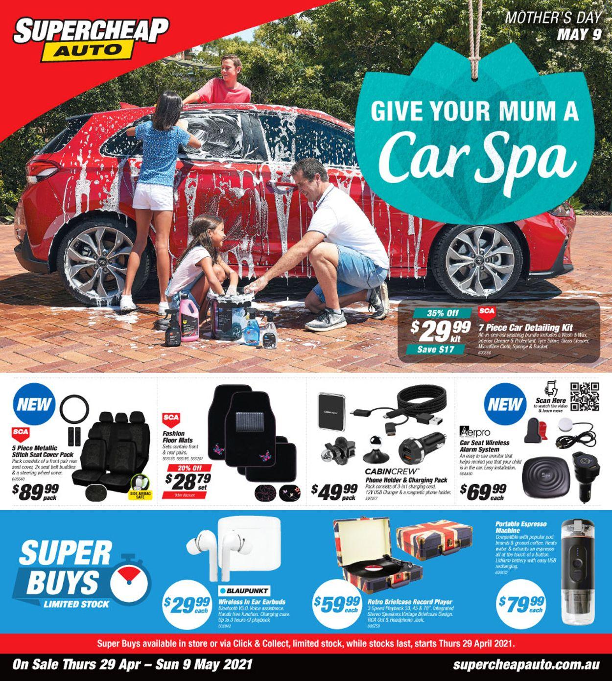 Supercheap Auto Catalogue - 29/04-09/05/2021