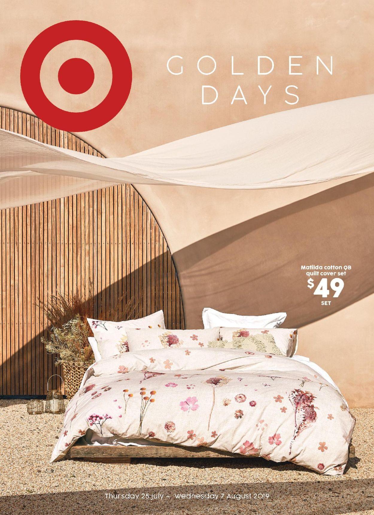 Target Catalogue - 25/07-07/08/2019