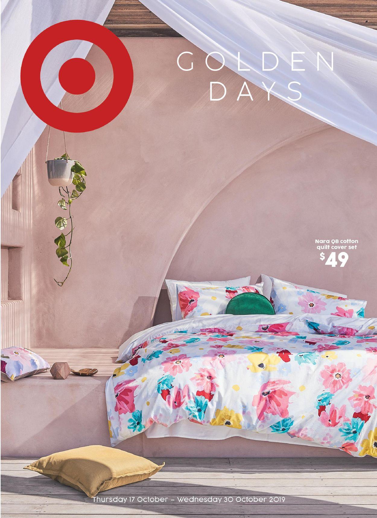 Target Catalogue - 17/10-30/10/2019