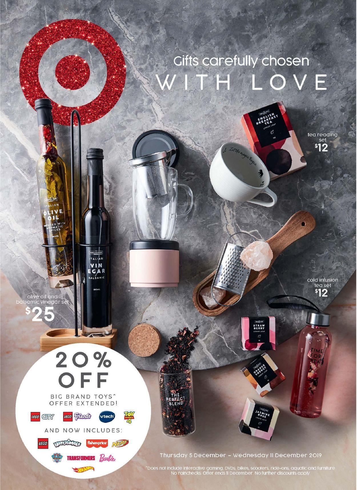Target Catalogue - 05/12-11/12/2019