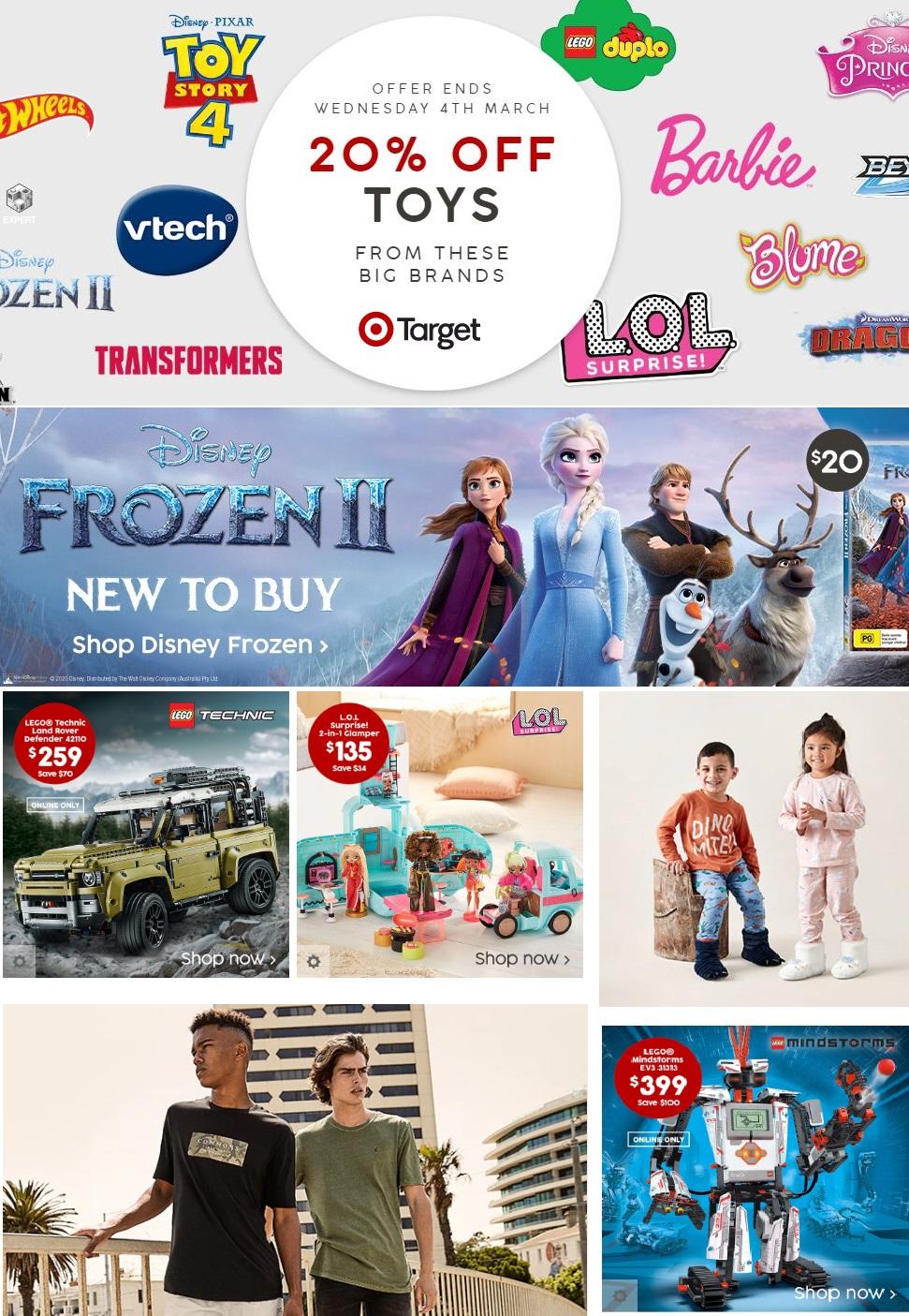 Target Catalogue - 03/03-10/03/2020