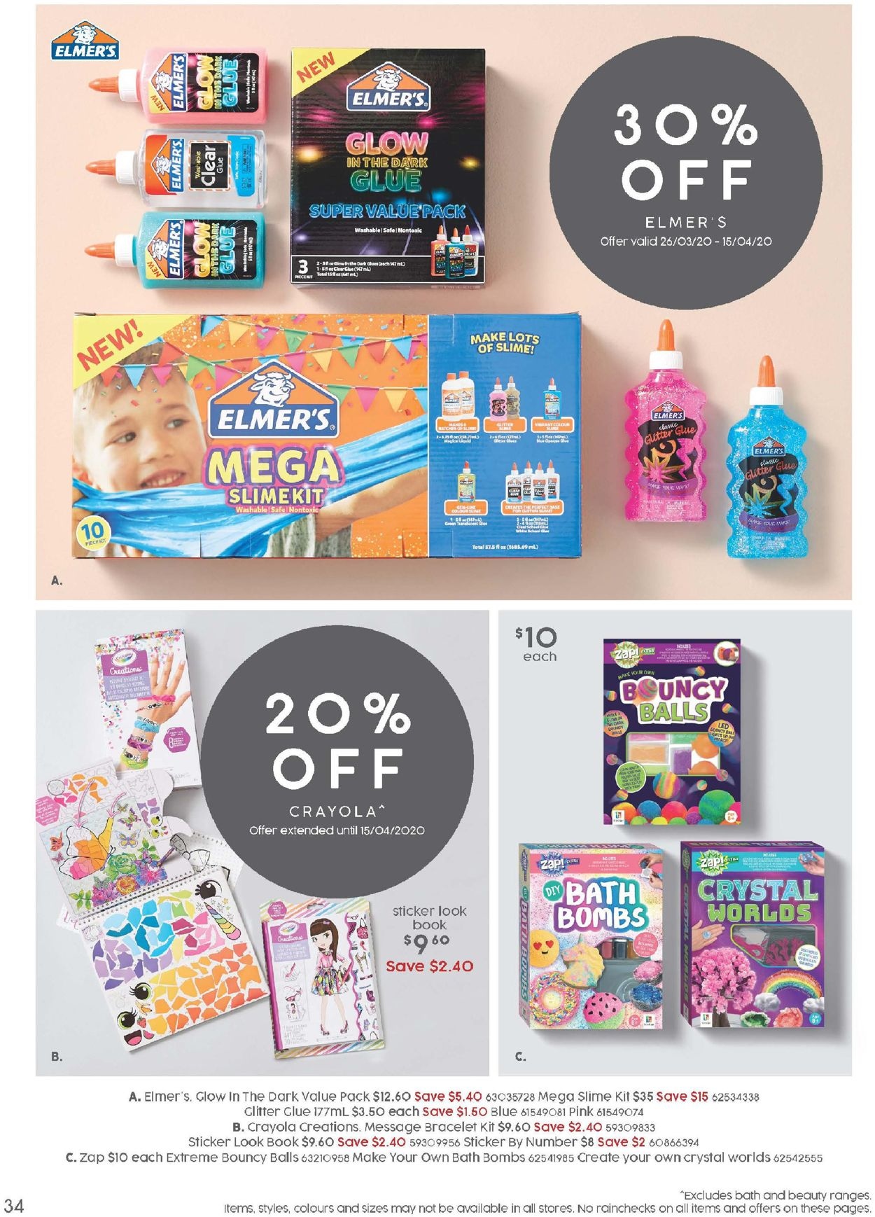 Target Catalogue - 26/03-26/04/2020 (Page 34)