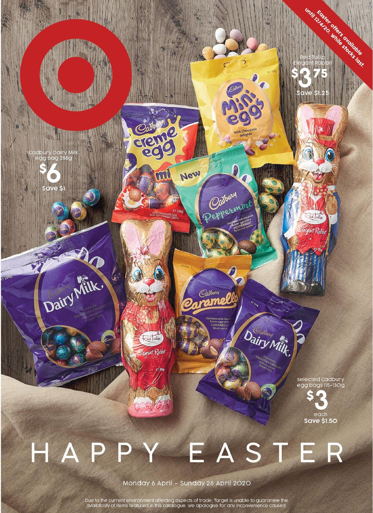 Target Catalogue - 06/04-26/04/2020