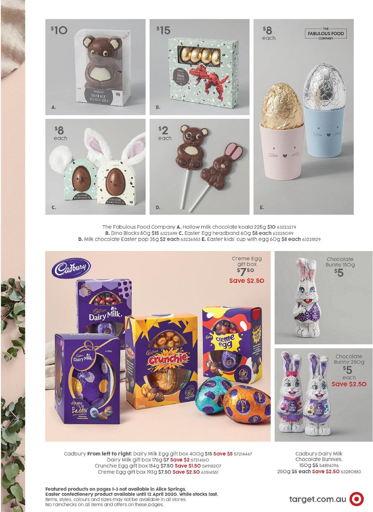 Target Catalogue - 06/04-26/04/2020 (Page 3)