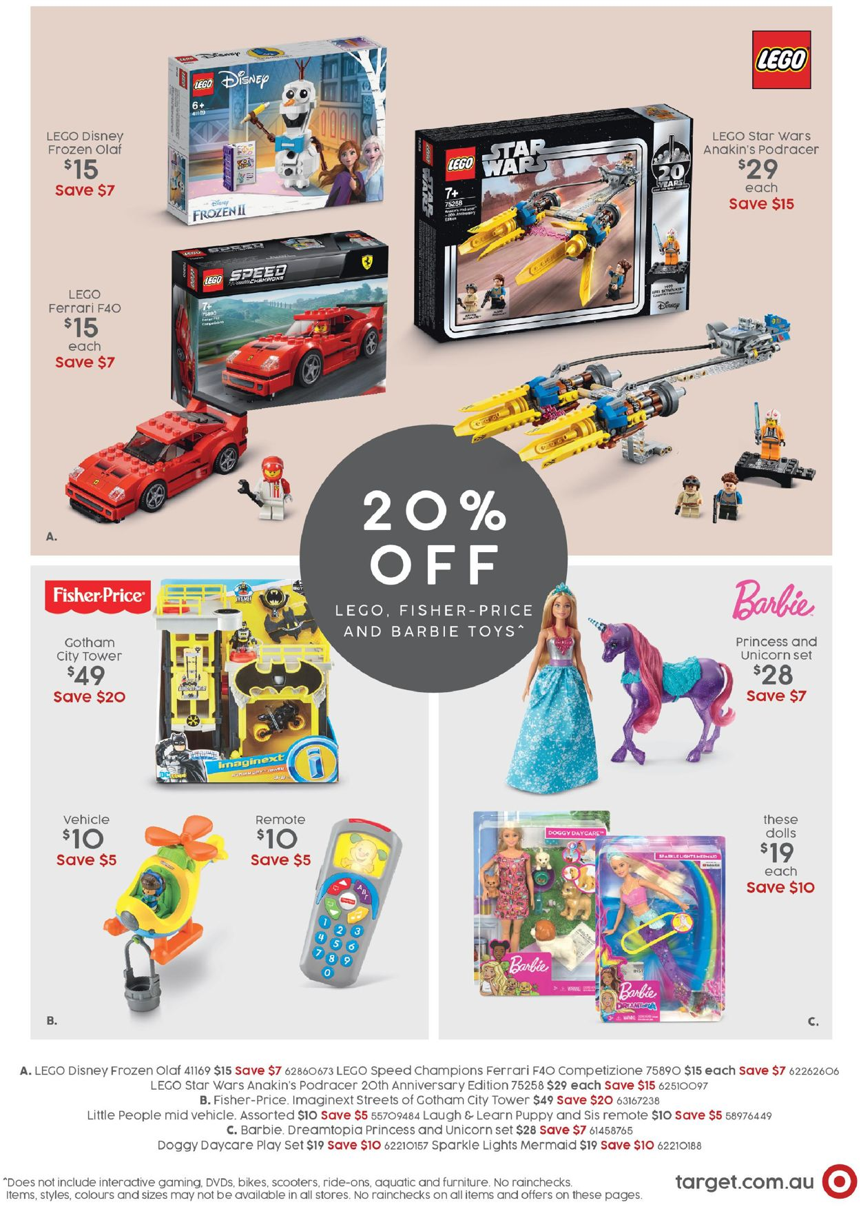 Target Catalogue - 06/04-26/04/2020 (Page 9)