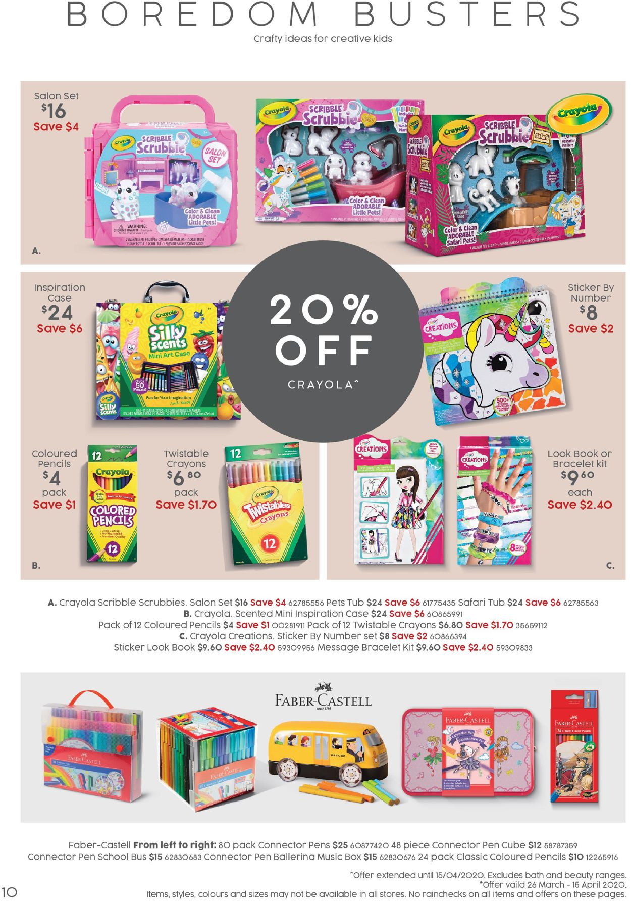 Target Catalogue - 06/04-26/04/2020 (Page 10)