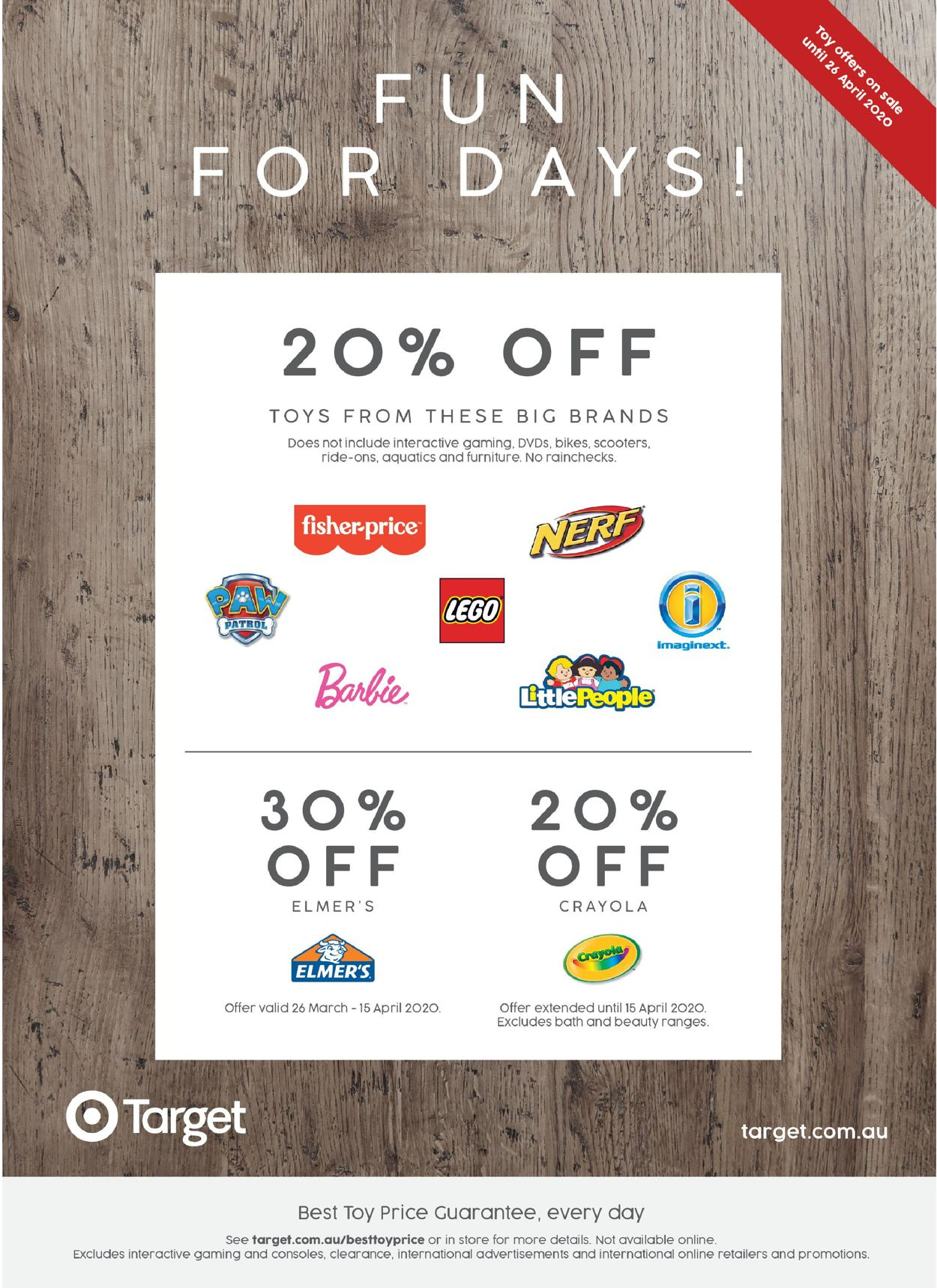 Target Catalogue - 06/04-26/04/2020 (Page 12)