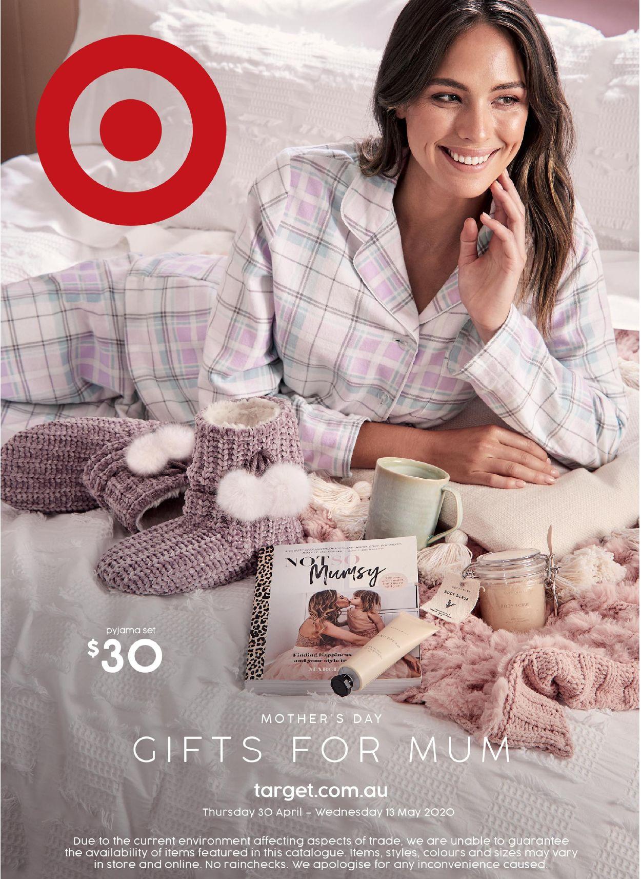 Target Catalogue - 30/04-13/05/2020