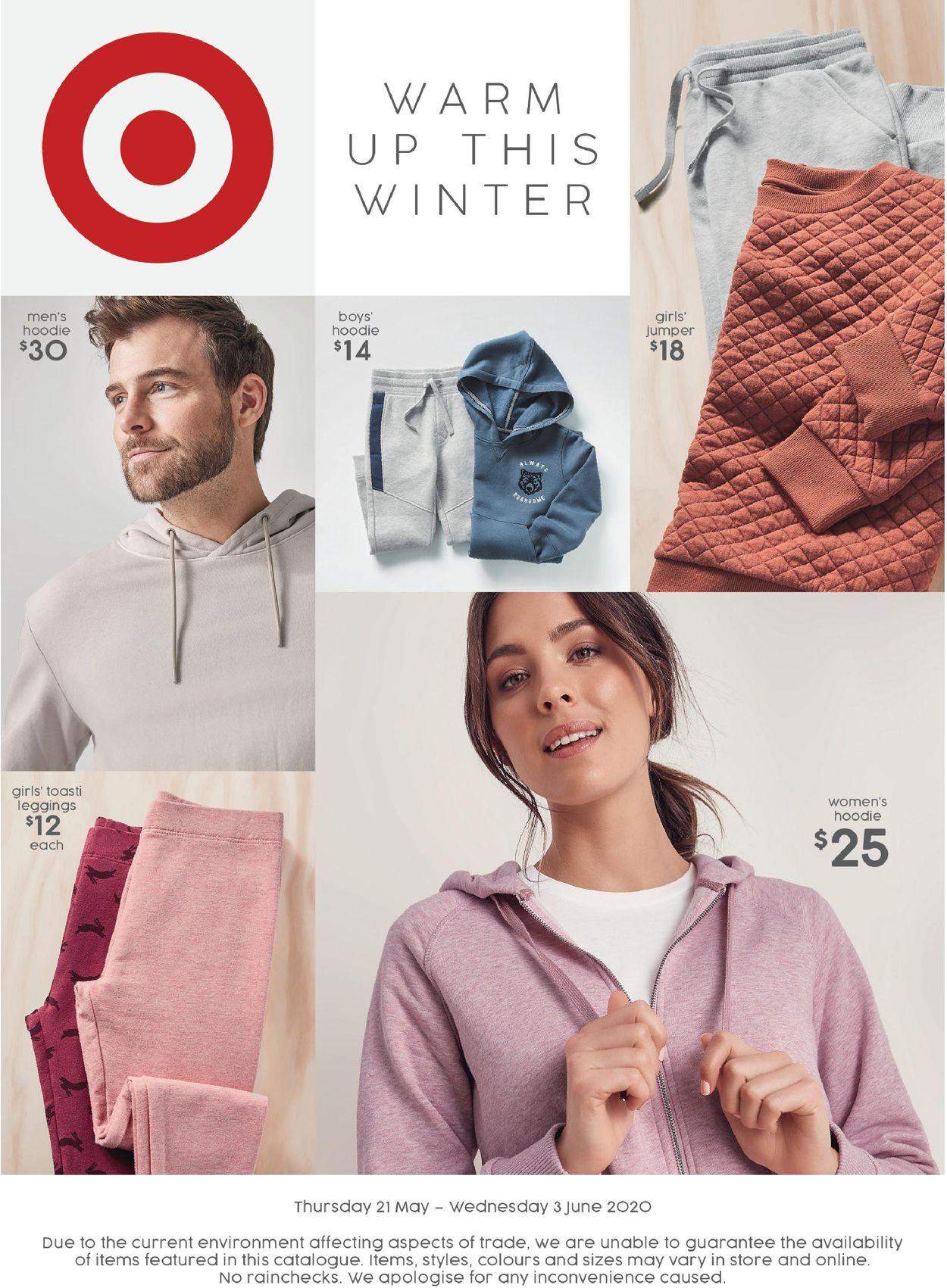 Target Catalogue - 21/05-03/06/2020