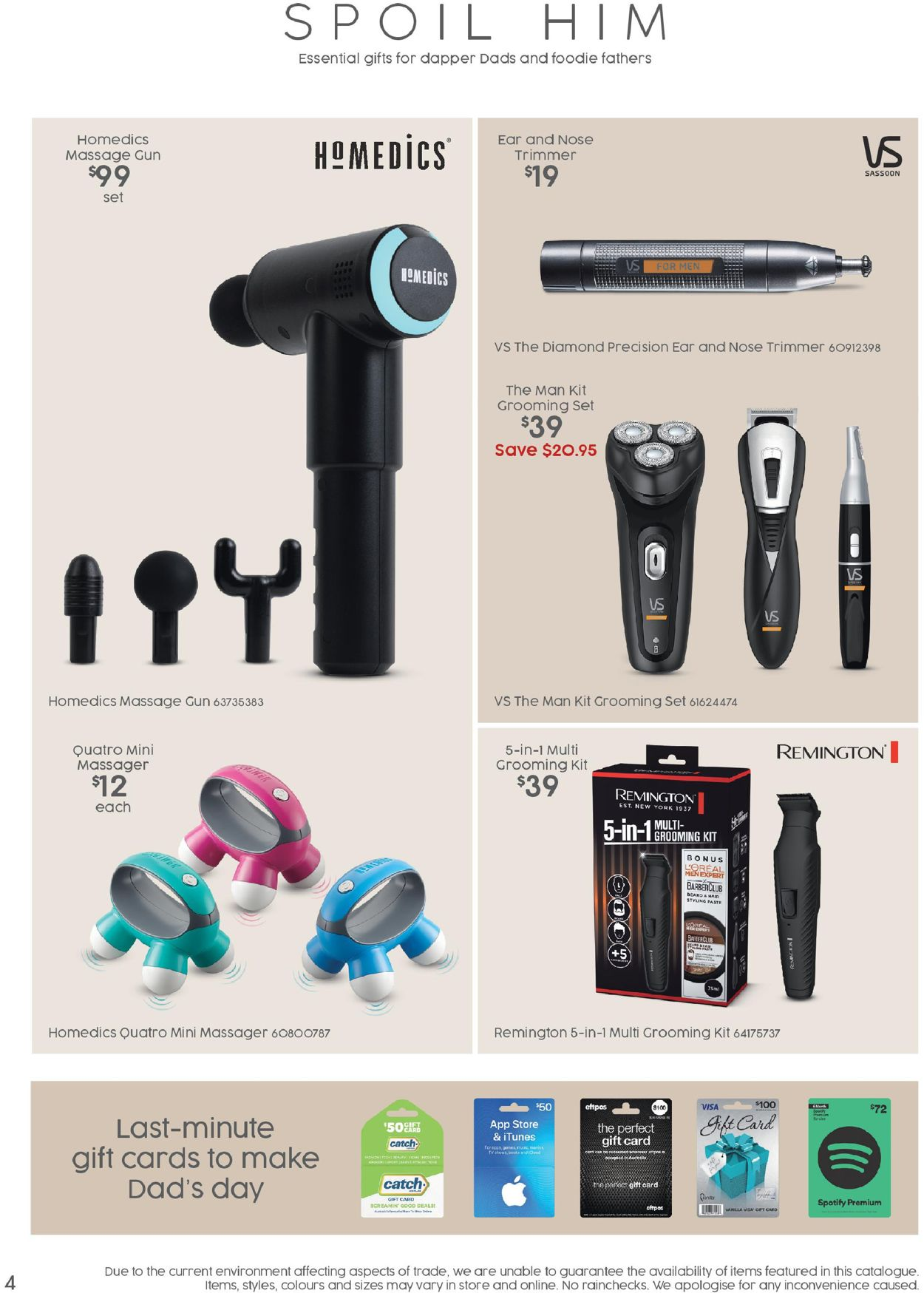Target Catalogue - 20/08-09/09/2020 (Page 4)