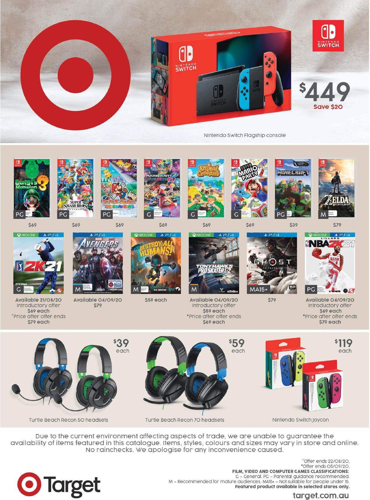 Target Catalogue - 20/08-09/09/2020 (Page 8)