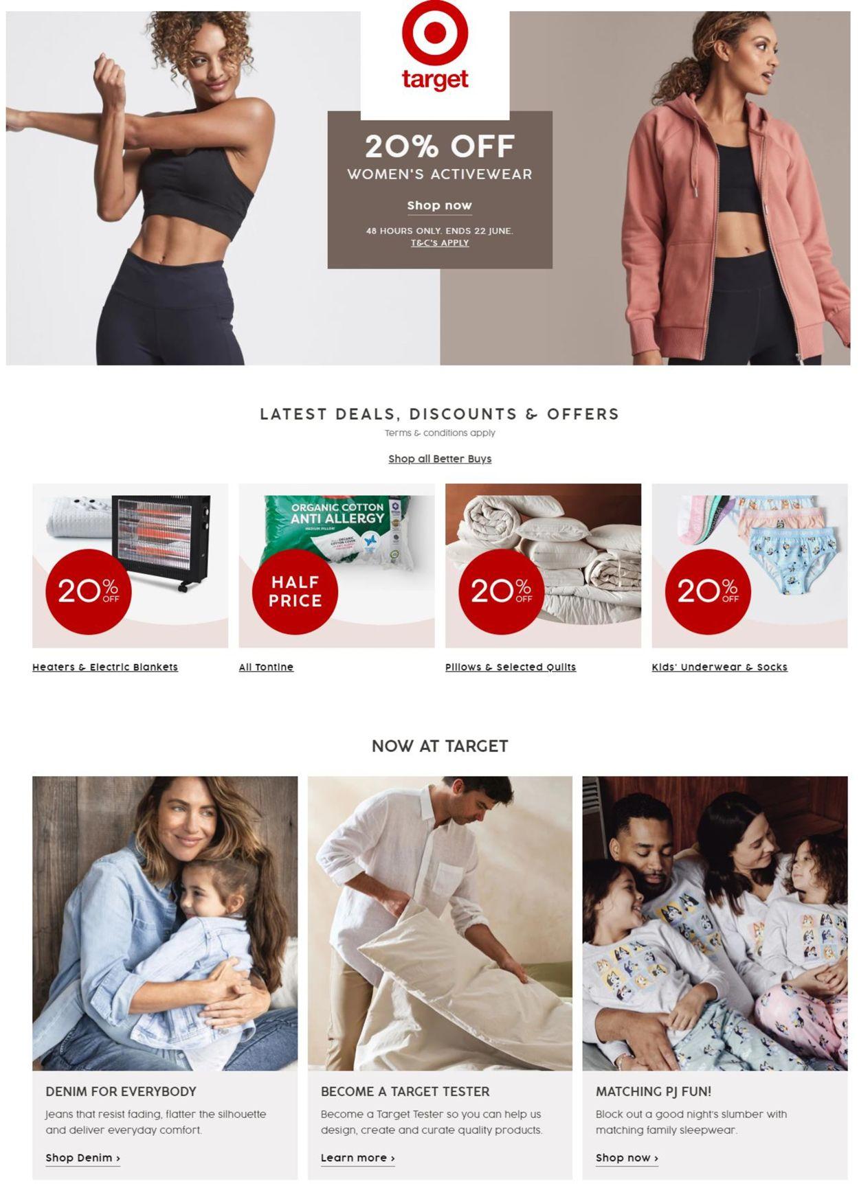 Target Catalogue - 22/06-28/06/2021