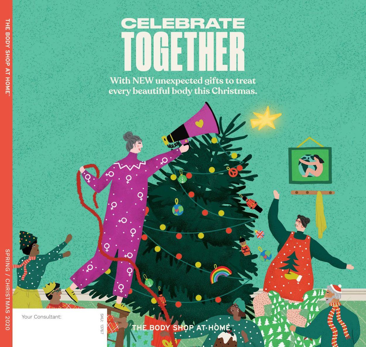 The Body Shop Christmas 2020 Catalogue - 30/09-31/12/2020