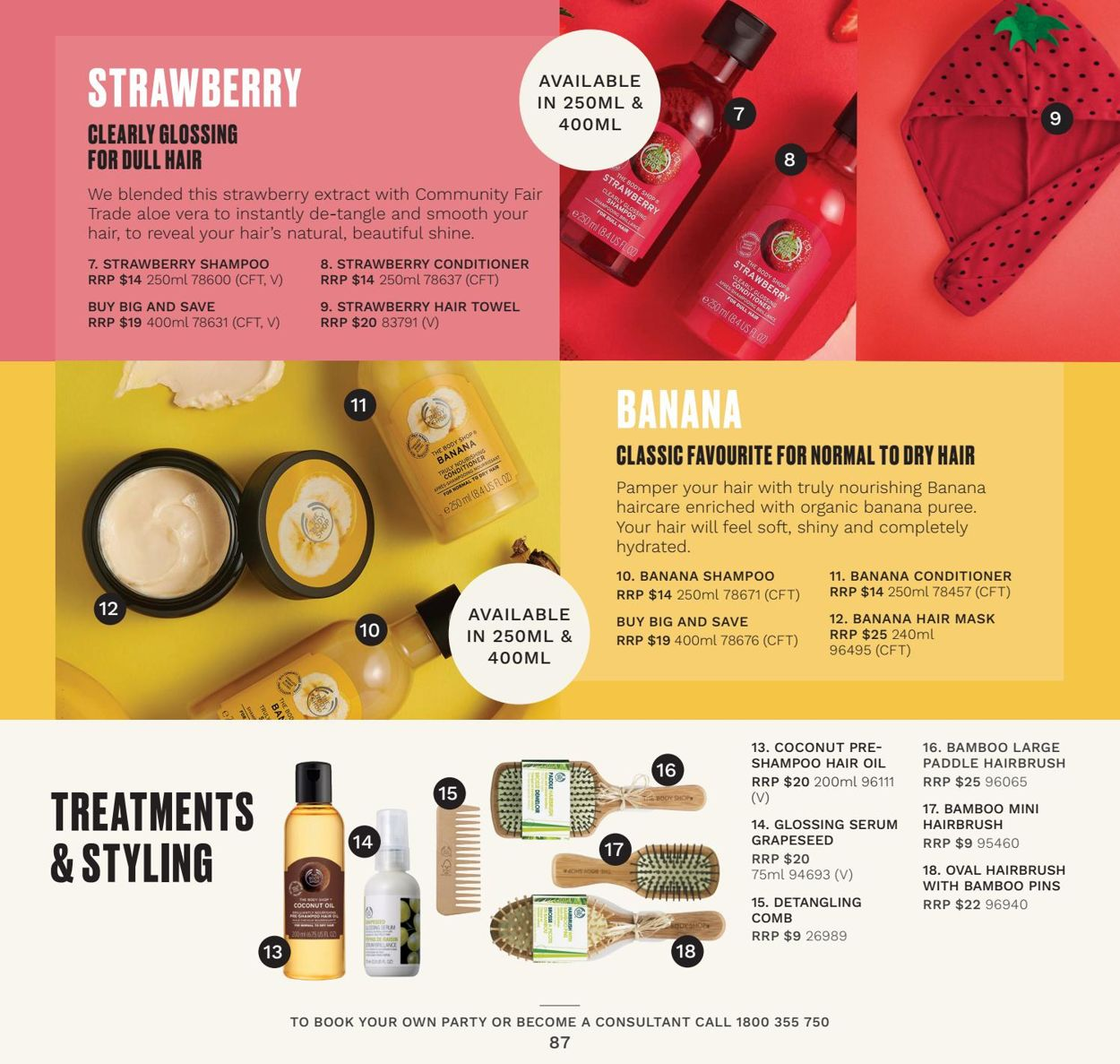 The Body Shop - Summer 2021 Catalogue - 01/01-31/03/2021 (Page 87)