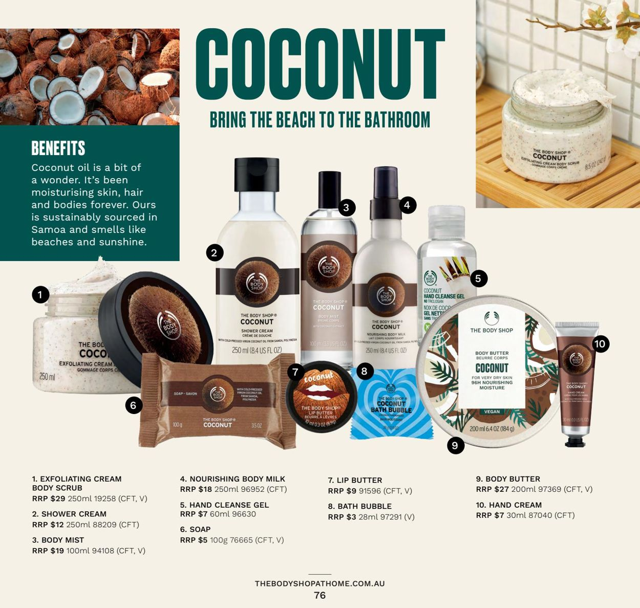 The Body Shop Catalogue - 31/03-30/06/2021 (Page 76)