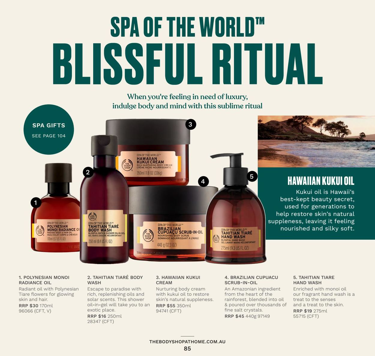 The Body Shop Catalogue - 31/03-30/06/2021 (Page 85)