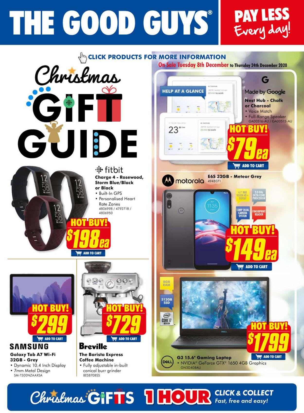 The Good Guys - Christmas Gift Guide 2020 Catalogue - 08/12-24/12/2020
