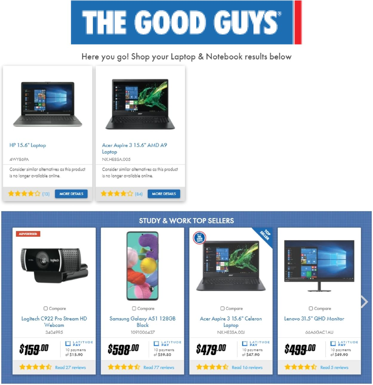 The Good Guys Catalogue - 04/01-10/01/2021 (Page 12)
