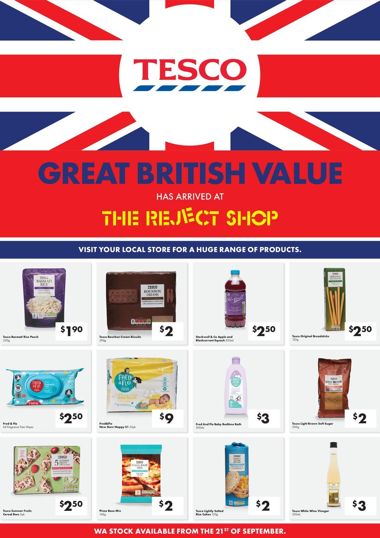 The Reject Shop Catalogue - 21/09-28/09/2020