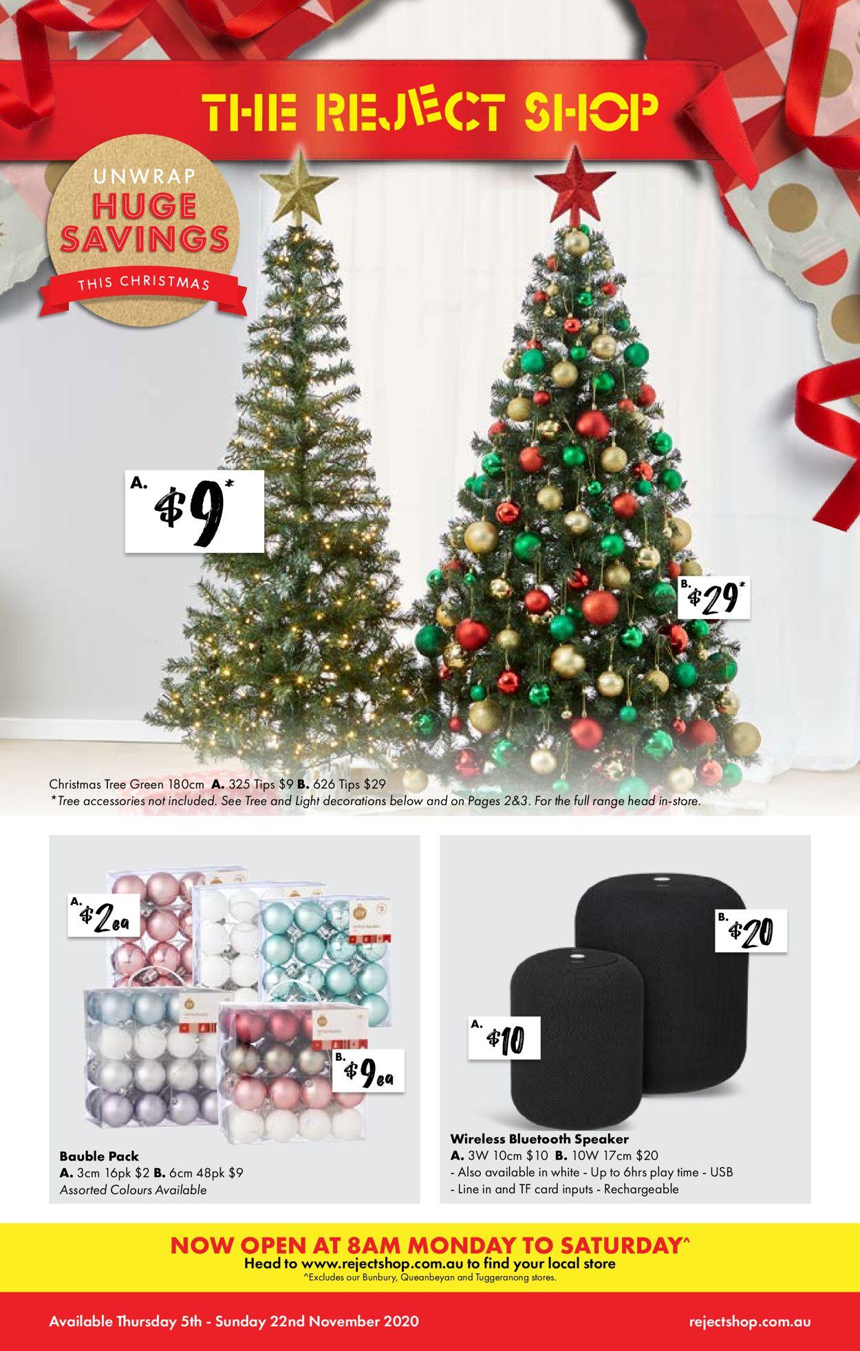 The Reject Shop Christmas 2020 Catalogue - 05/11-22/11/2020