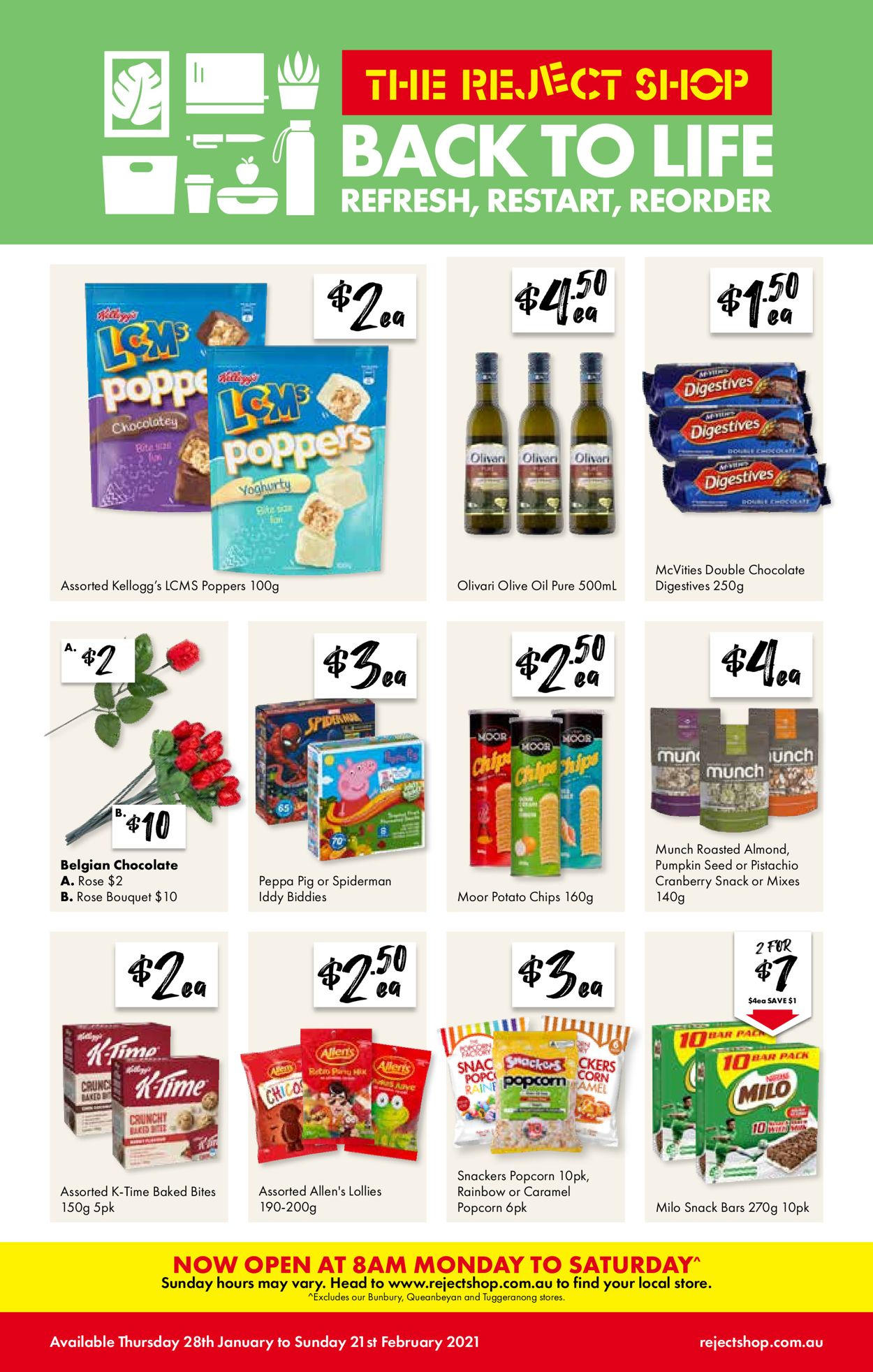 The Reject Shop - Back To Life 2021 Catalogue - 28/01-21/02/2021 (Page 11)