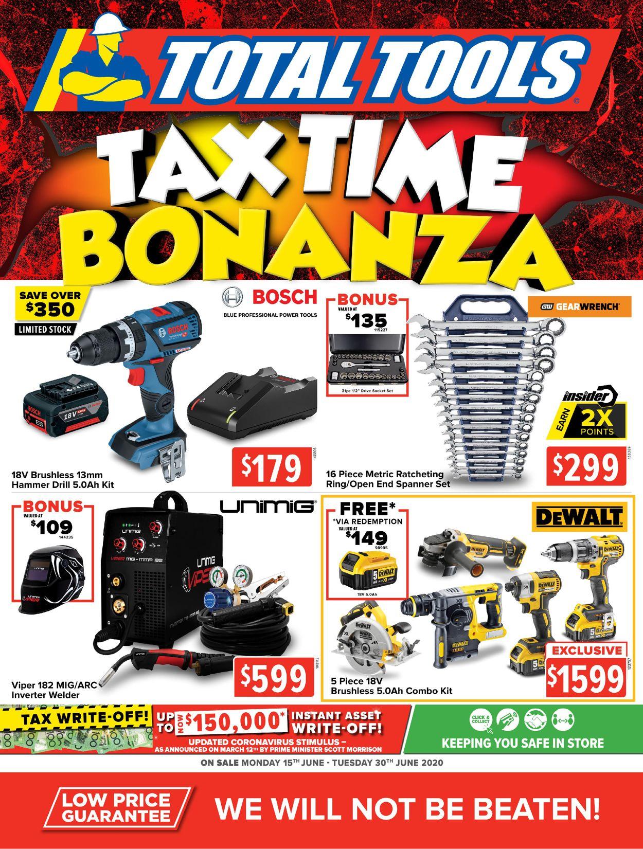 Total Tools Catalogue - 15/06-30/06/2020