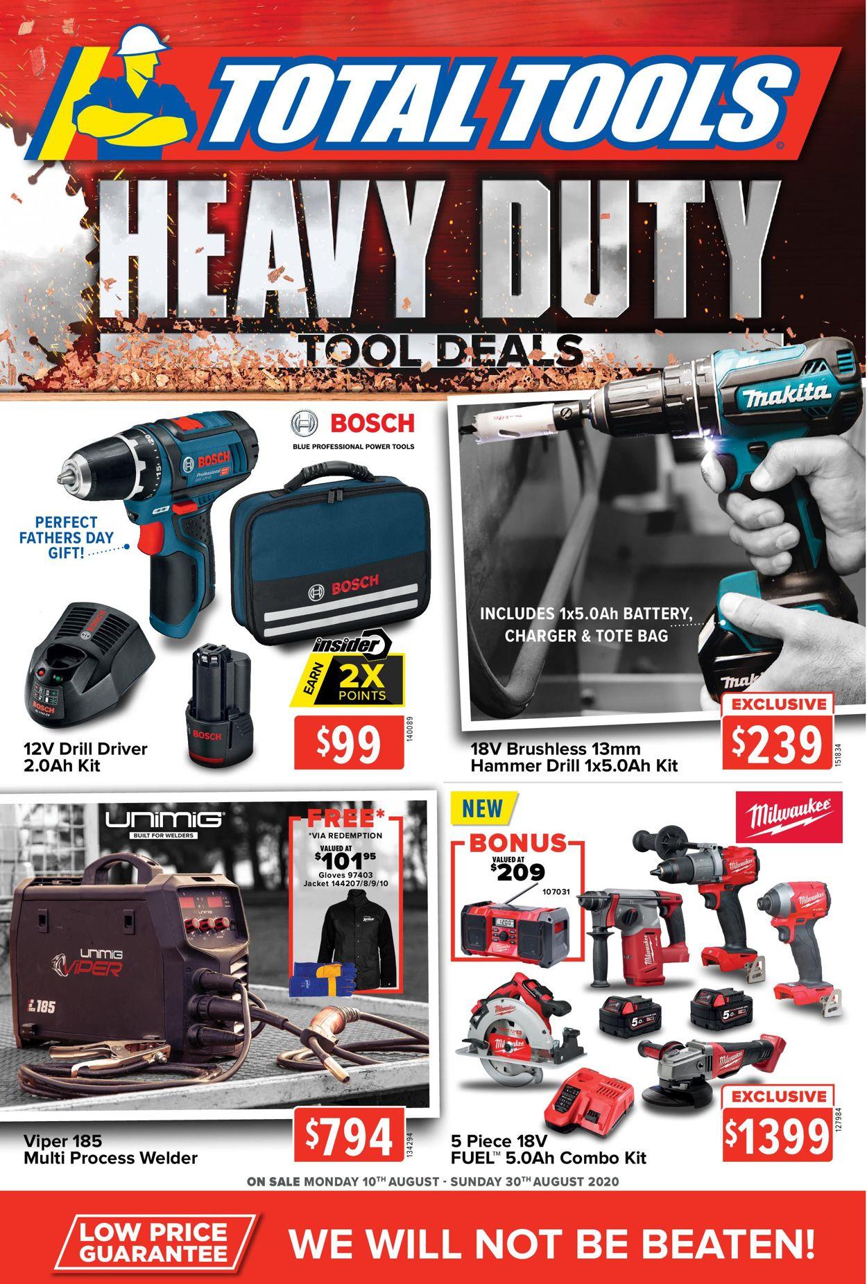Total Tools Catalogue - 10/08-30/08/2020