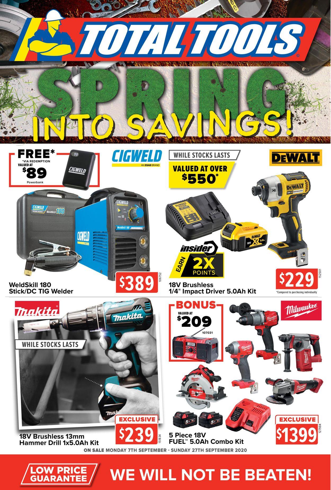 Total Tools Catalogue - 07/09-27/09/2020