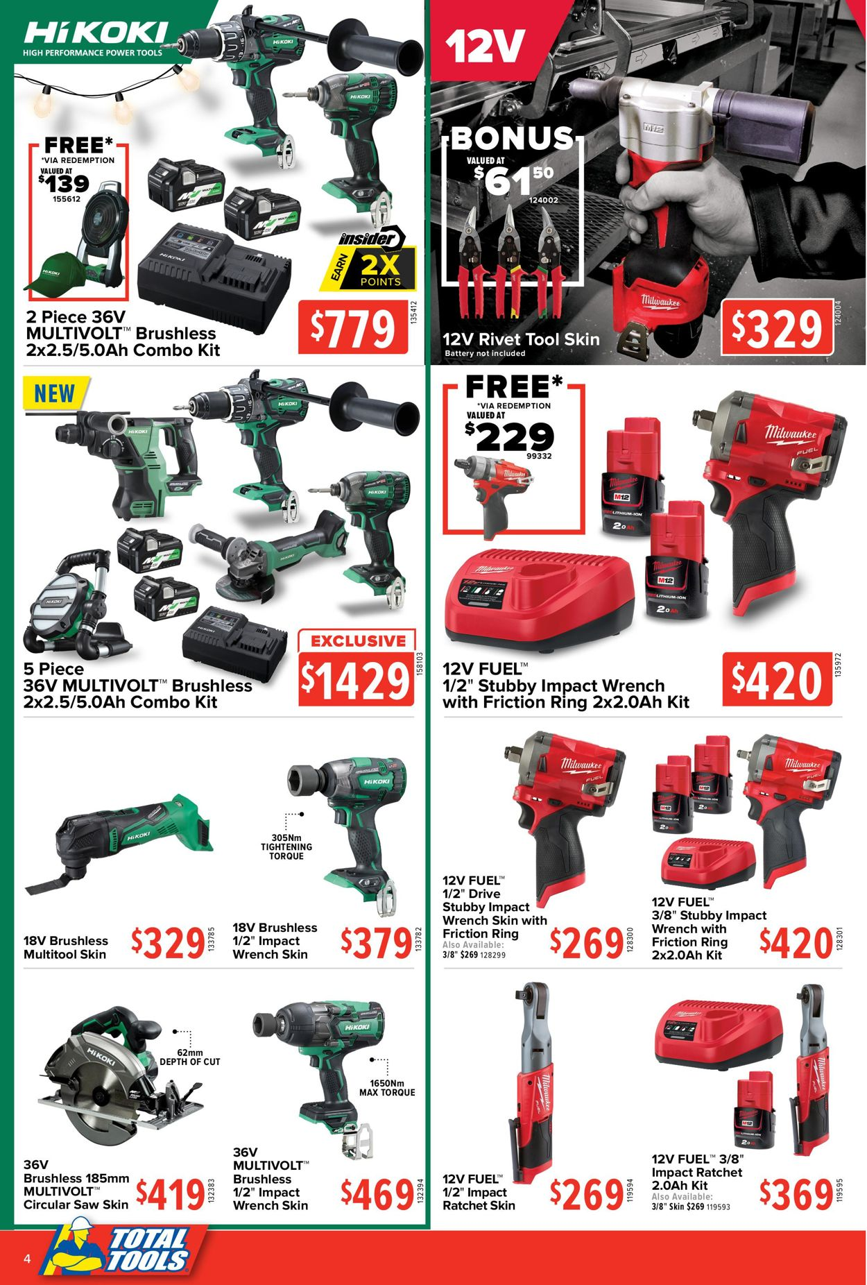 Total Tools - Christmas 2020 Catalogue - 30/11-24/12/2020 (Page 4)