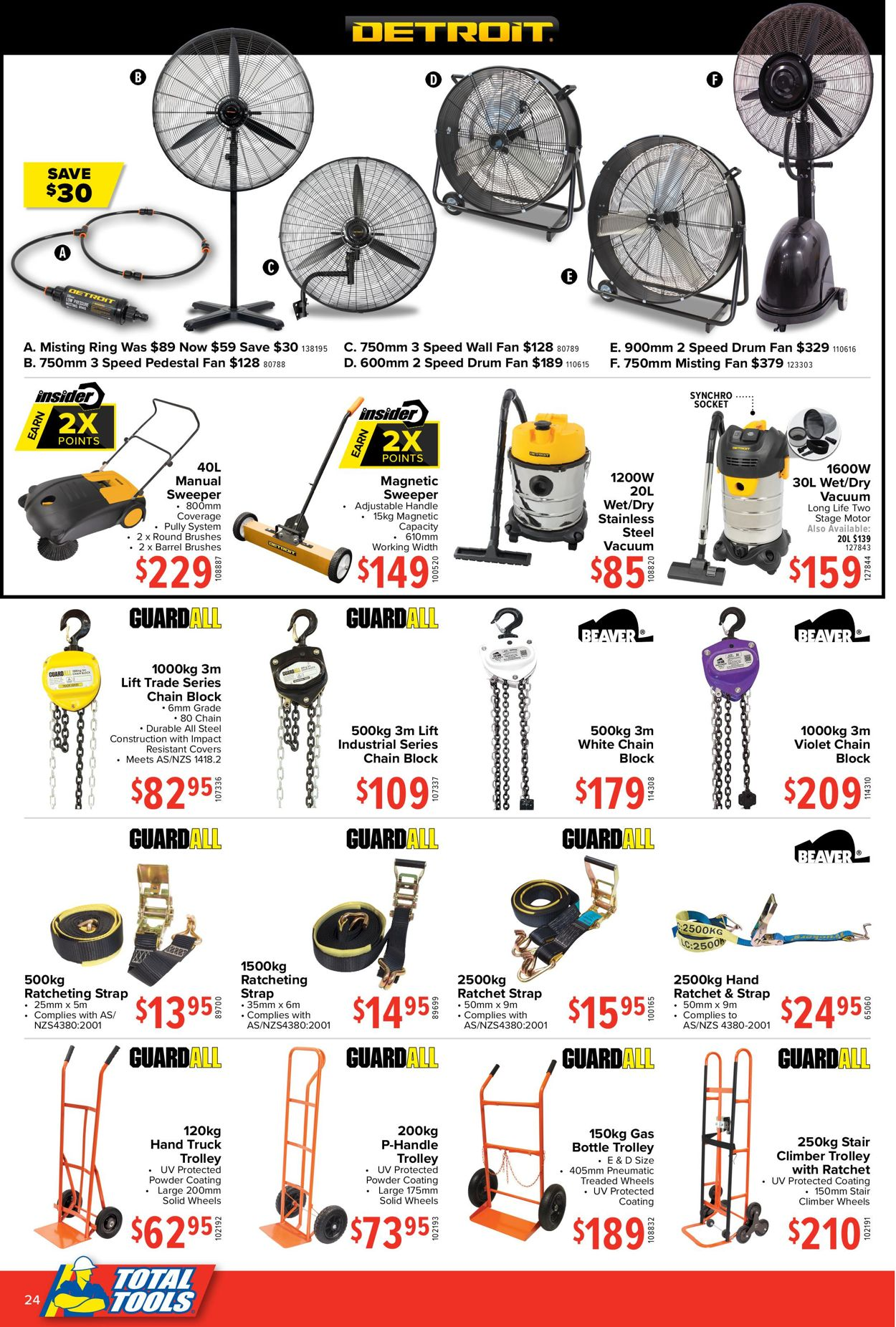 Total Tools - Christmas 2020 Catalogue - 30/11-24/12/2020 (Page 24)