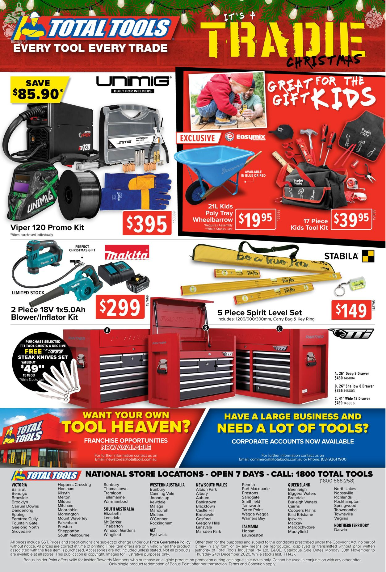 Total Tools - Christmas 2020 Catalogue - 30/11-24/12/2020 (Page 28)