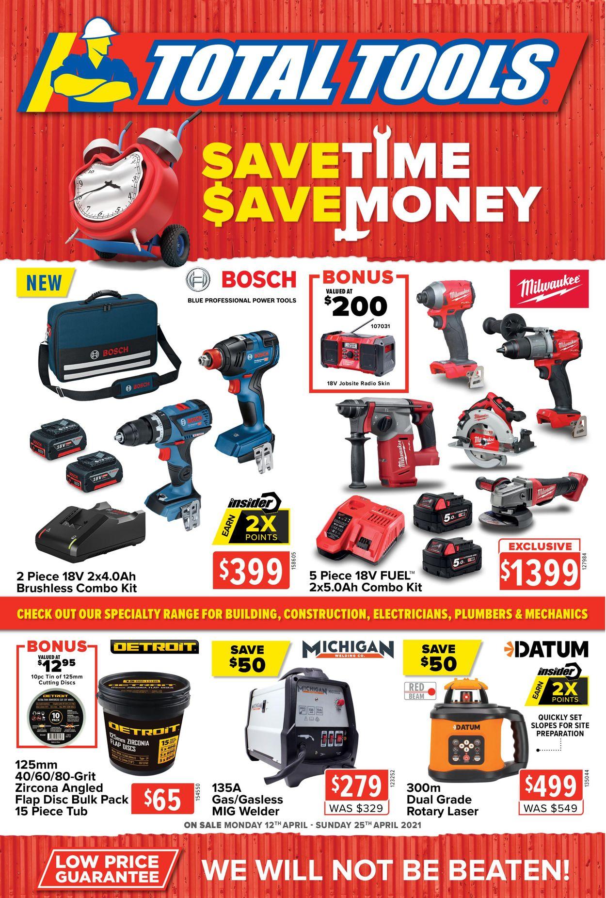 Total Tools Catalogue - 12/04-25/04/2021