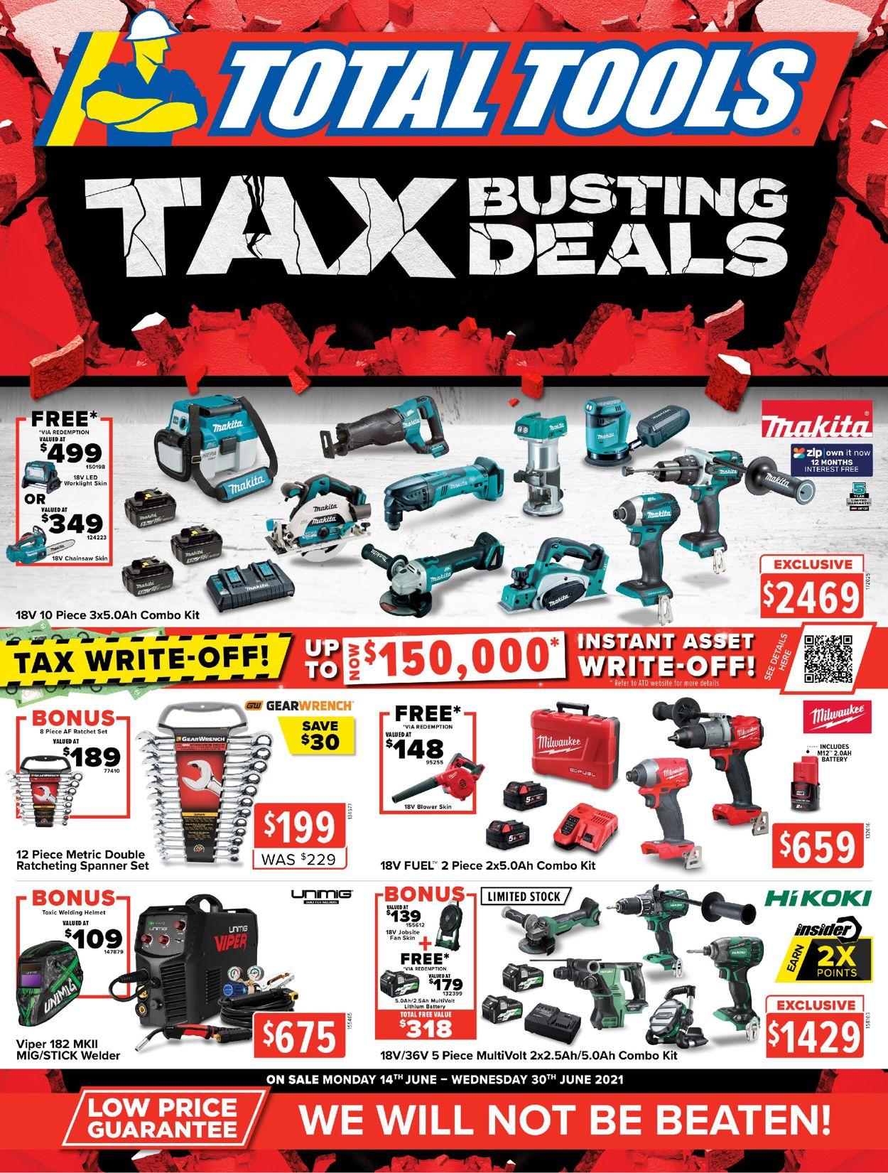 Total Tools Catalogue - 14/06-30/06/2021