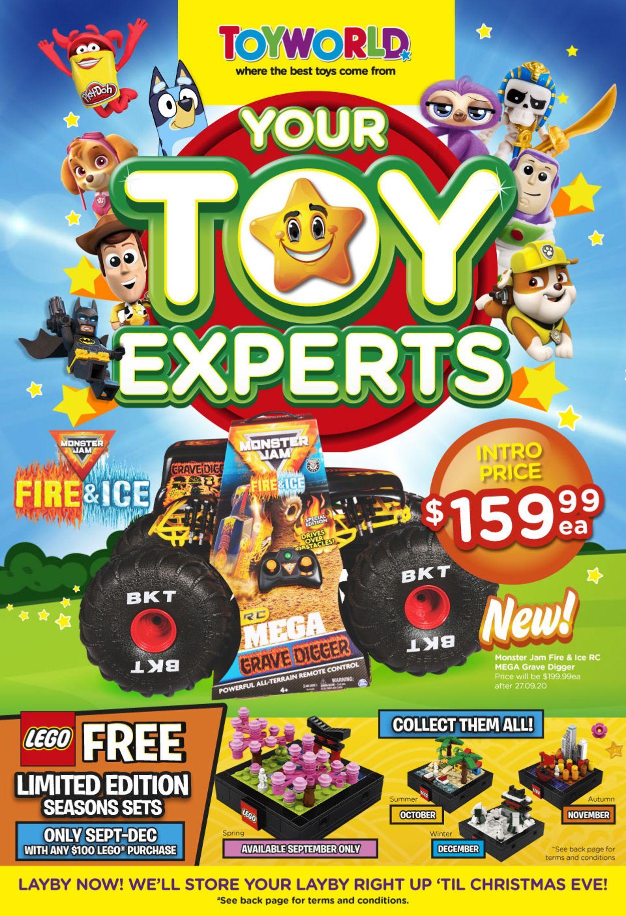 Toyworld Catalogue - 16/09-27/09/2020