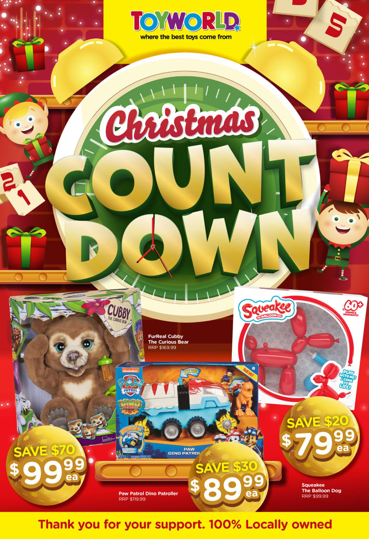 Toyworld Christmas 2020 Catalogue - 04/11-15/11/2020