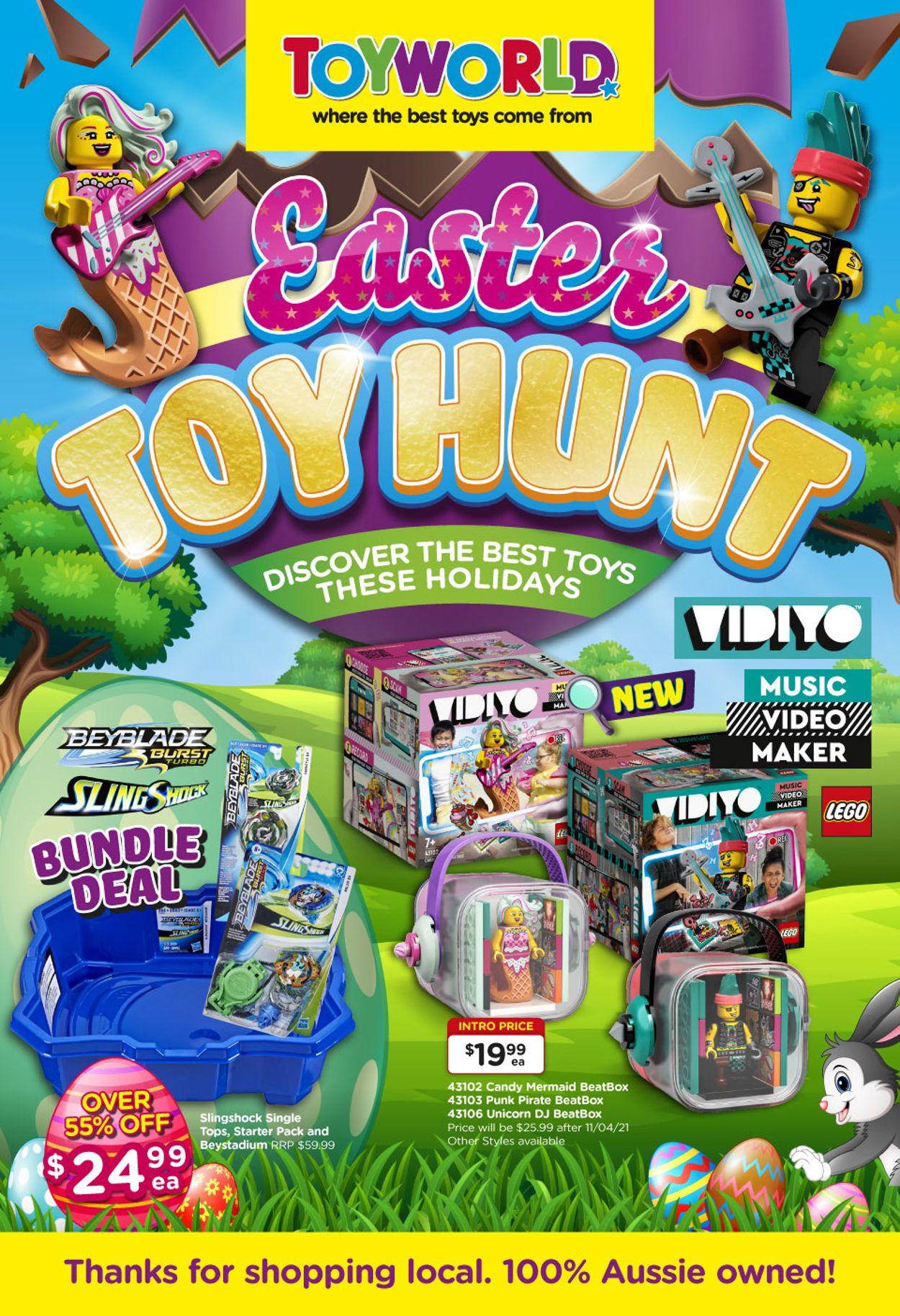 Toyworld Catalogue - 24/03-11/04/2021