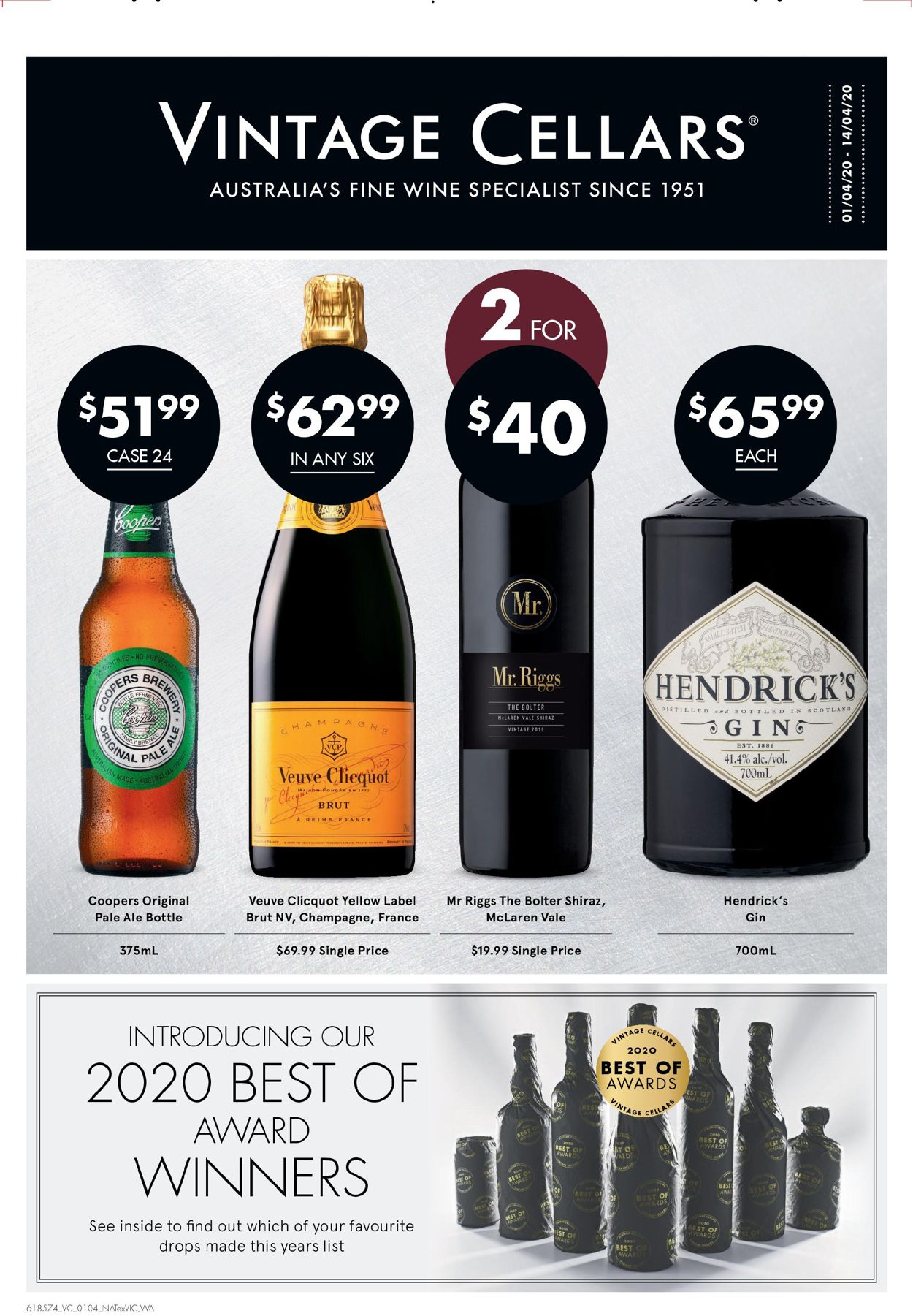 Vintage Cellars Catalogue - 01/04-14/04/2020
