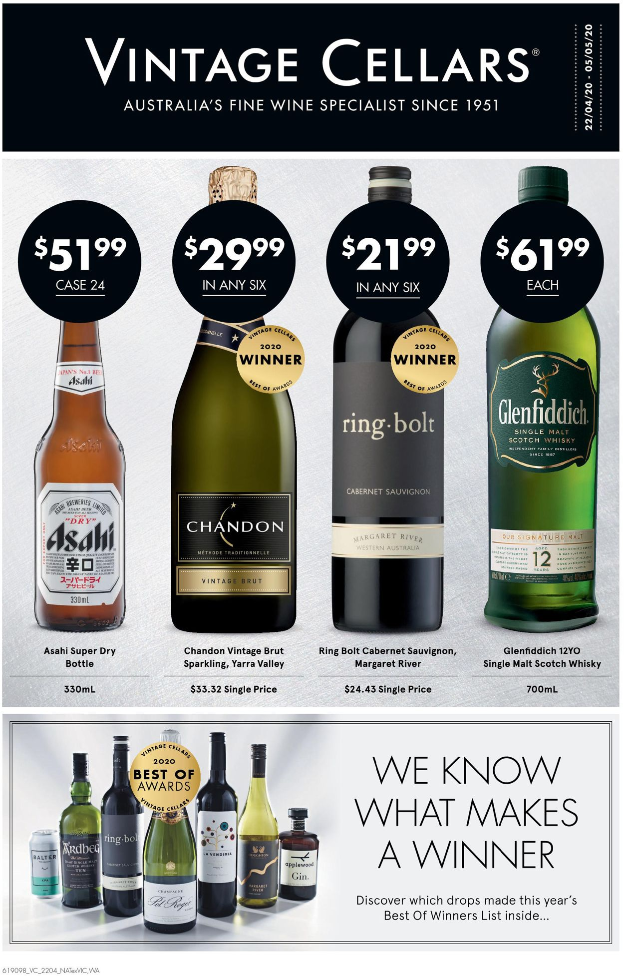 Vintage Cellars Catalogue - 22/04-05/05/2020