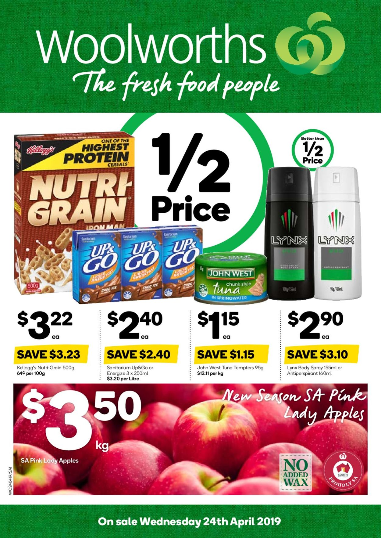Woolworths Catalogue - 24/04-30/04/2019