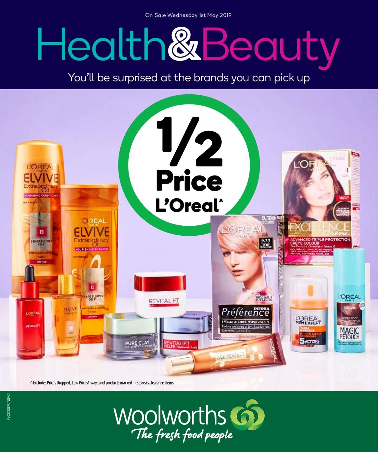 Woolworths Catalogue - 01/05-07/05/2019