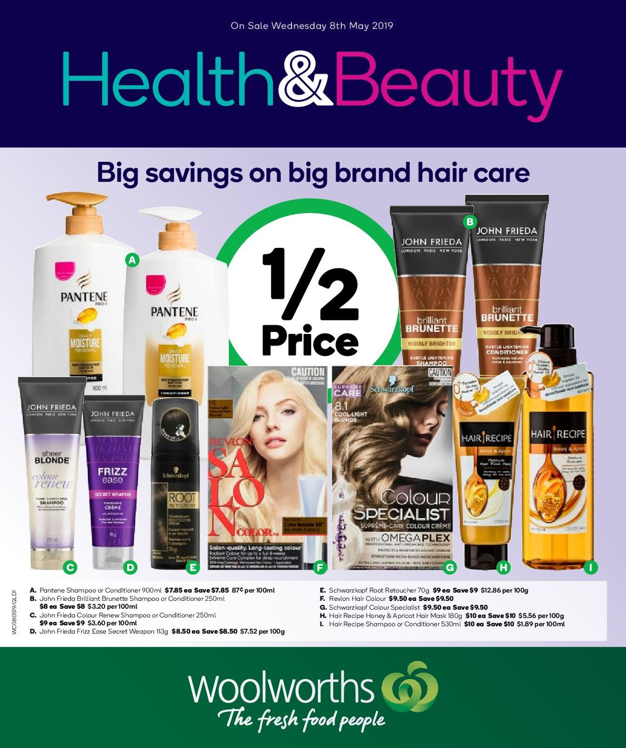 Woolworths Catalogue - 08/05-14/05/2019