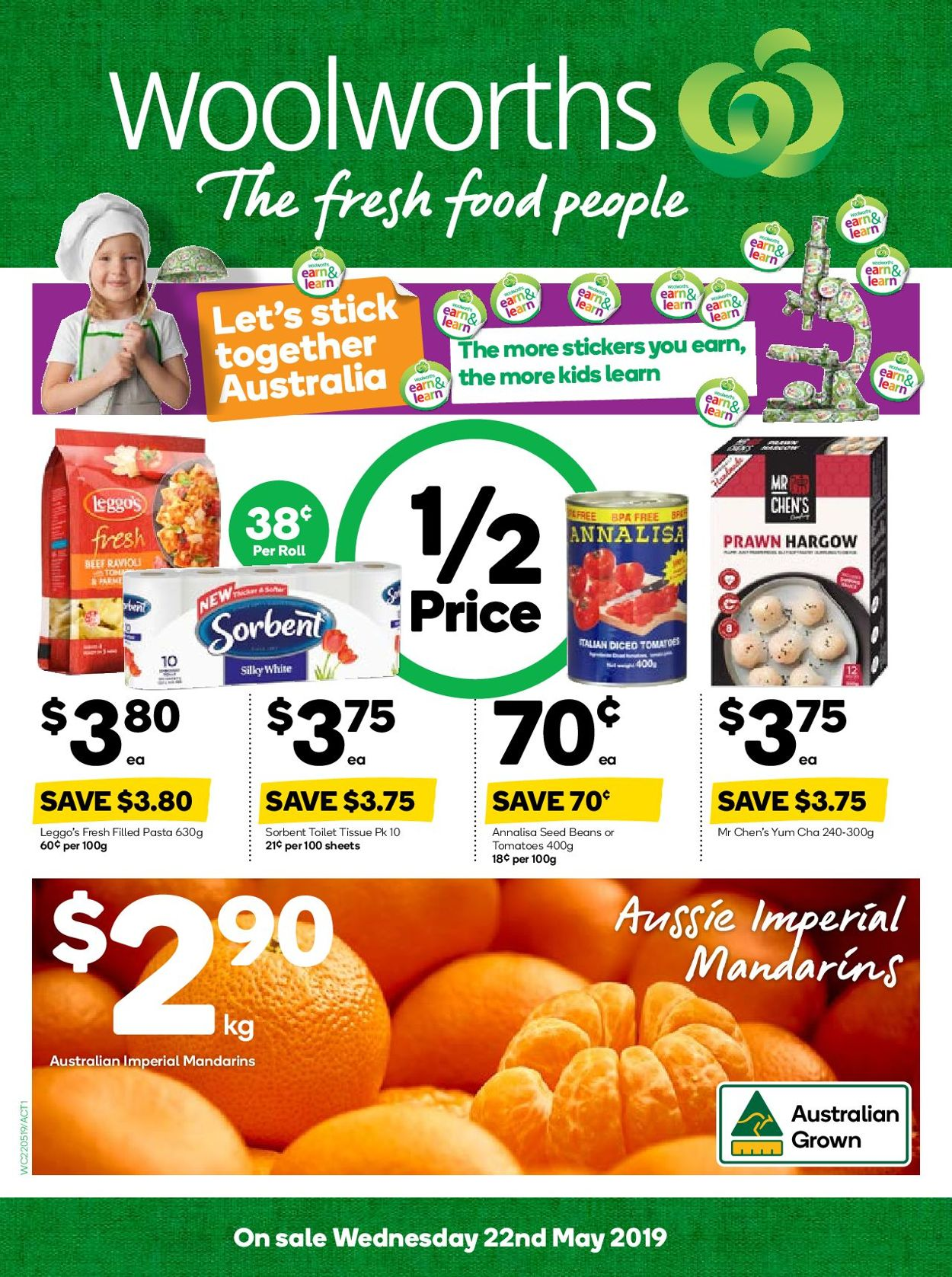 Woolworths Catalogue - 22/05-28/05/2019