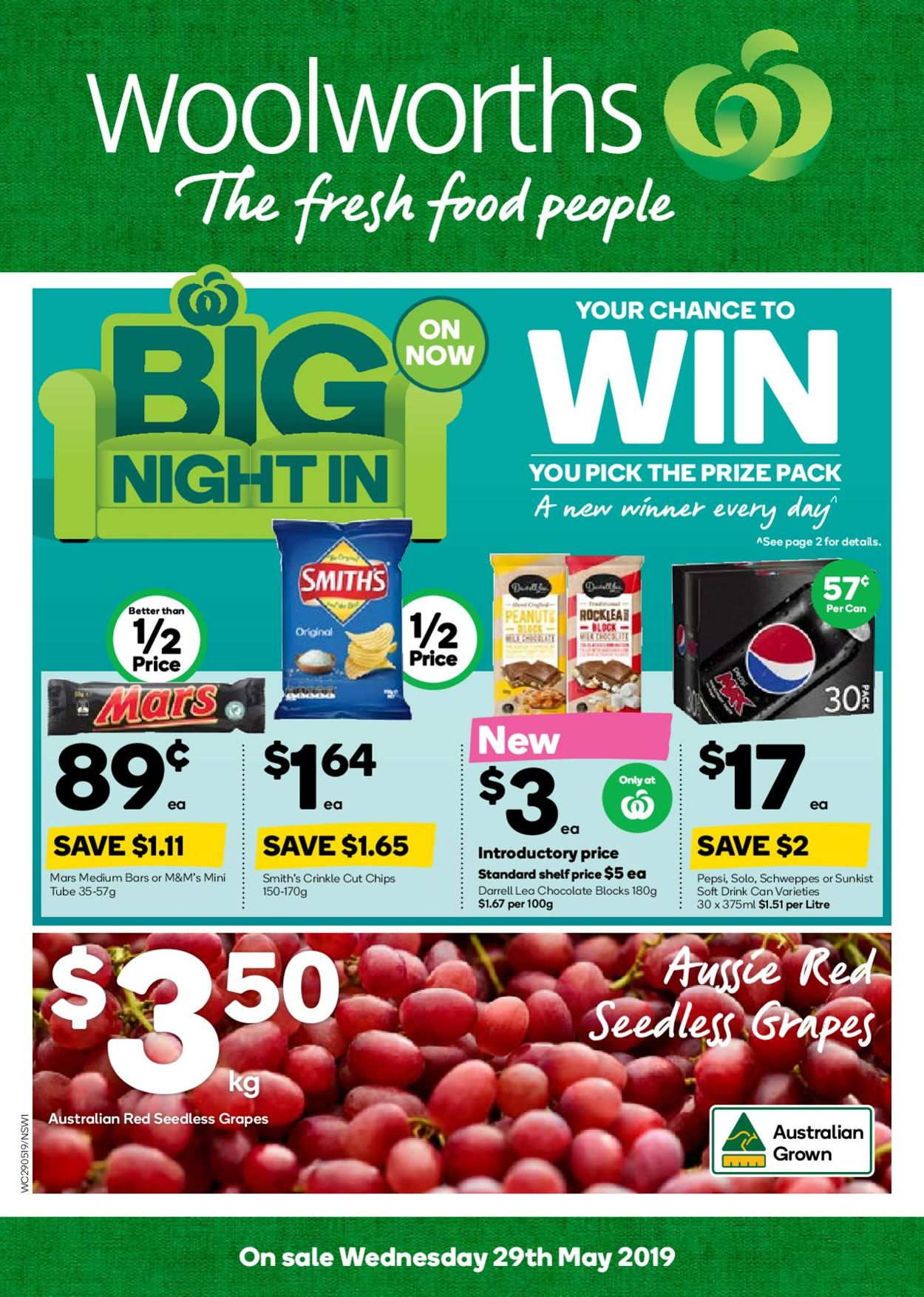 Woolworths Catalogue - 29/05-04/06/2019