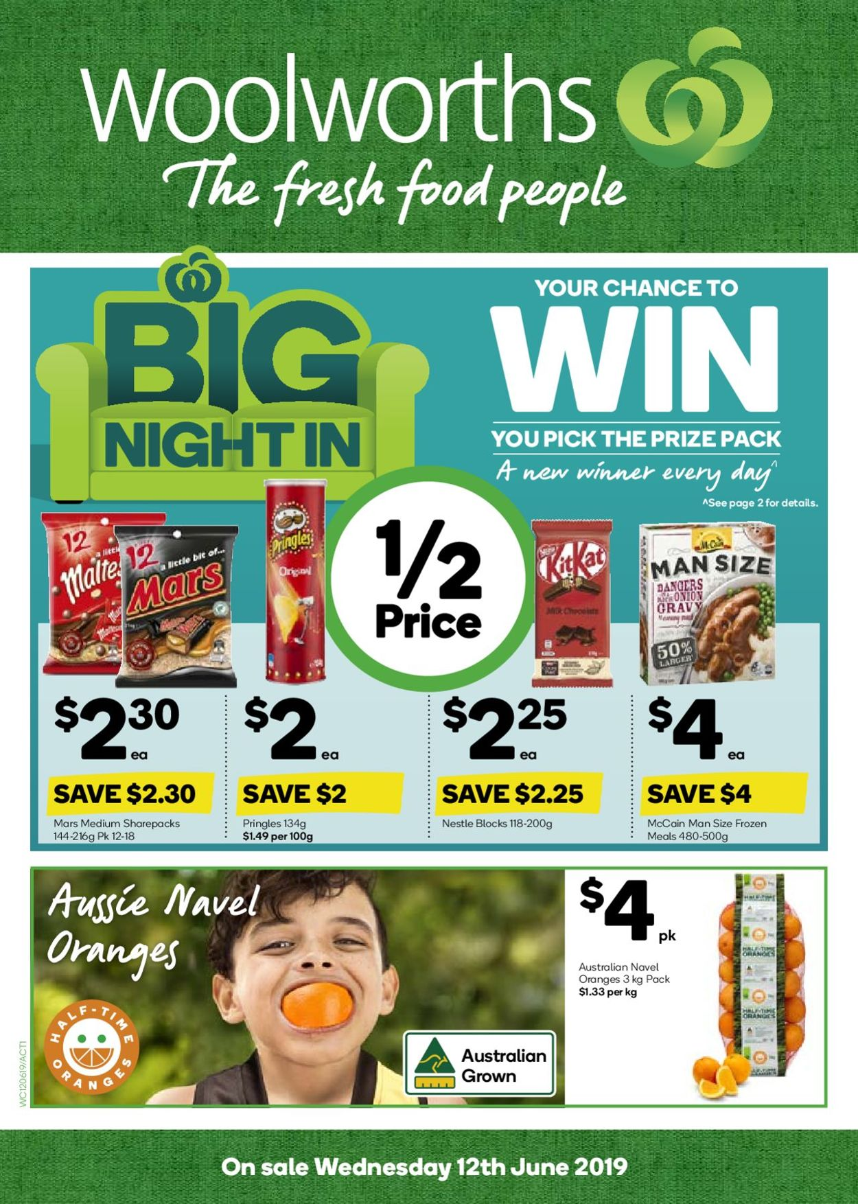Woolworths Catalogue - 12/06-18/06/2019