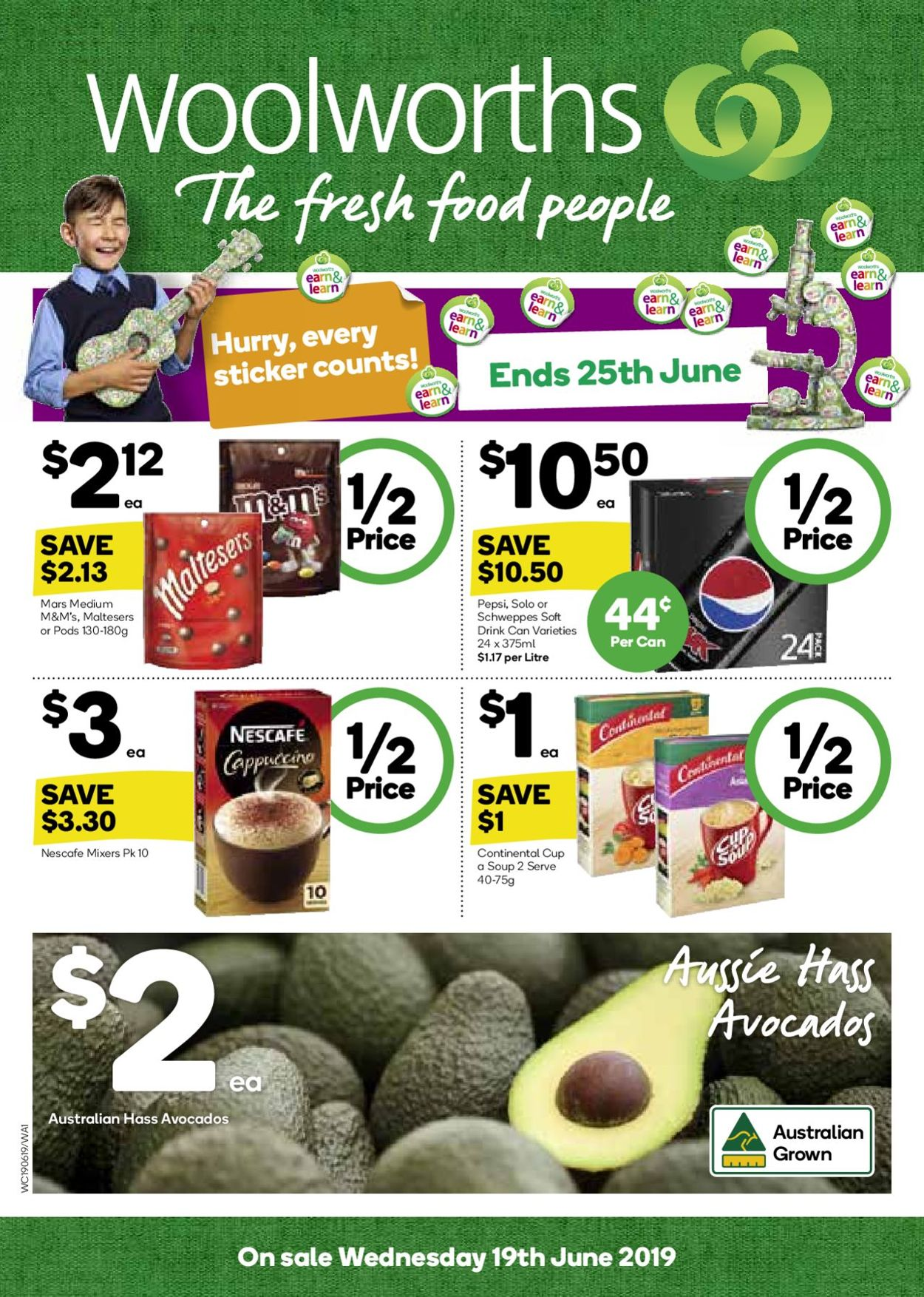 Woolworths Catalogue - 19/06-25/06/2019